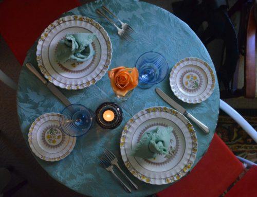 Decora tu mesa para disfrutar de Corte&Cata a domicilio!